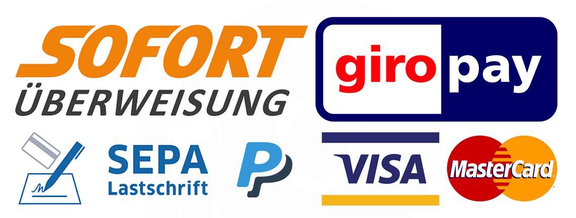 Zahlungsmoeglichkeiten bei PayPal
