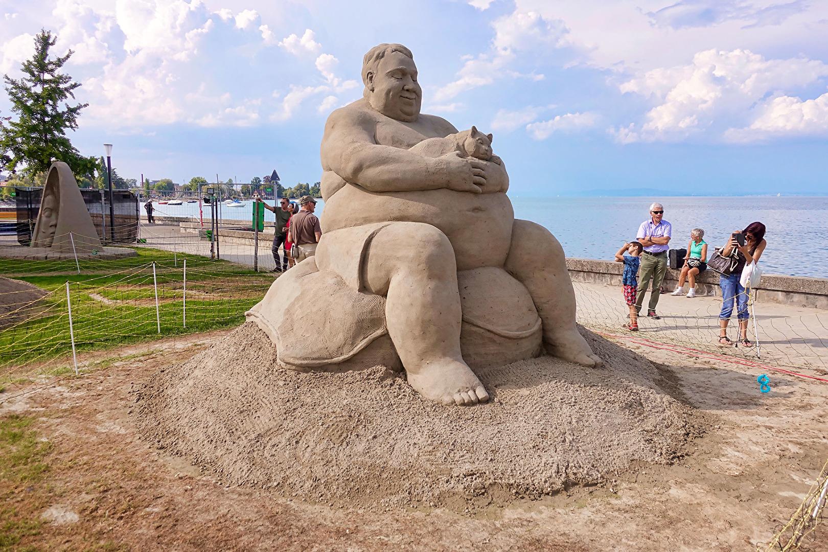 Sand Skulptur