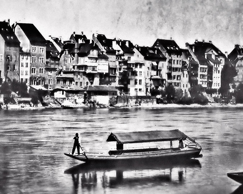 Der Fährmann auf dem Rhein