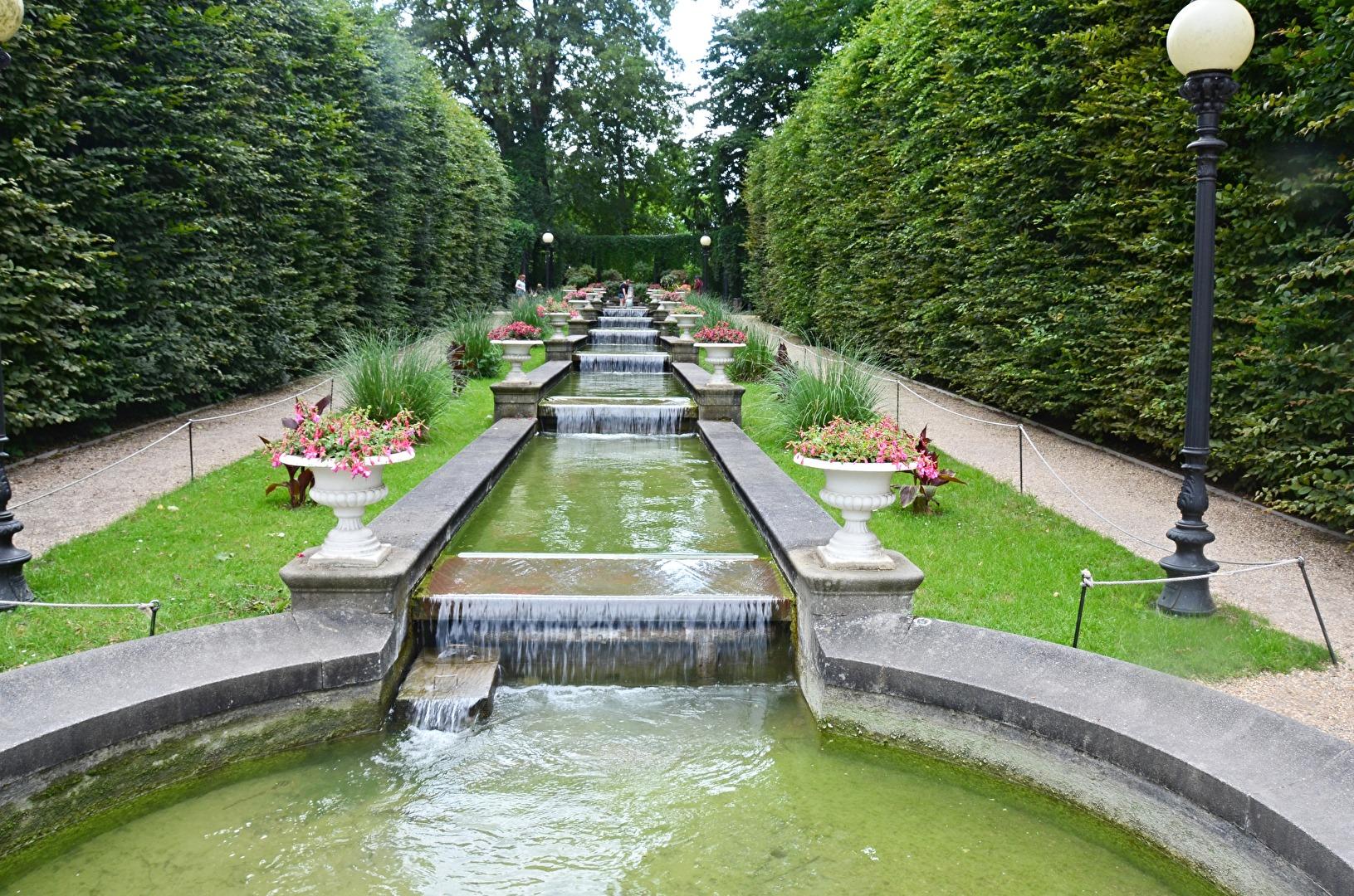 Besuch  in der  Kölner  Flora