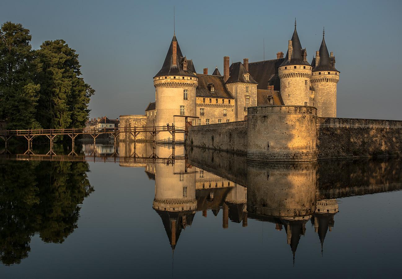 Sully-sur-Loire am Morgen