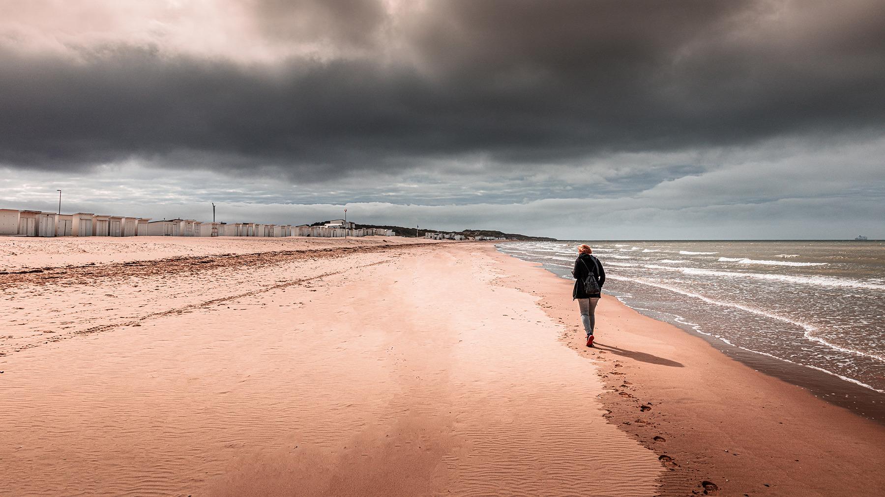 Deine Spuren im (Opalküste Calais)
