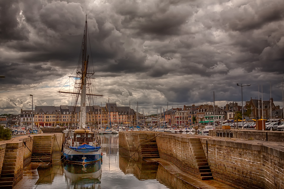 Hafen von Paimpol (Bretagne)