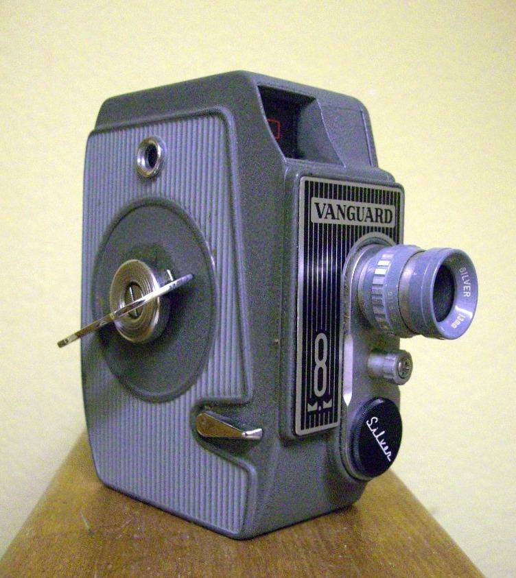 Meine erste Filmkamera........