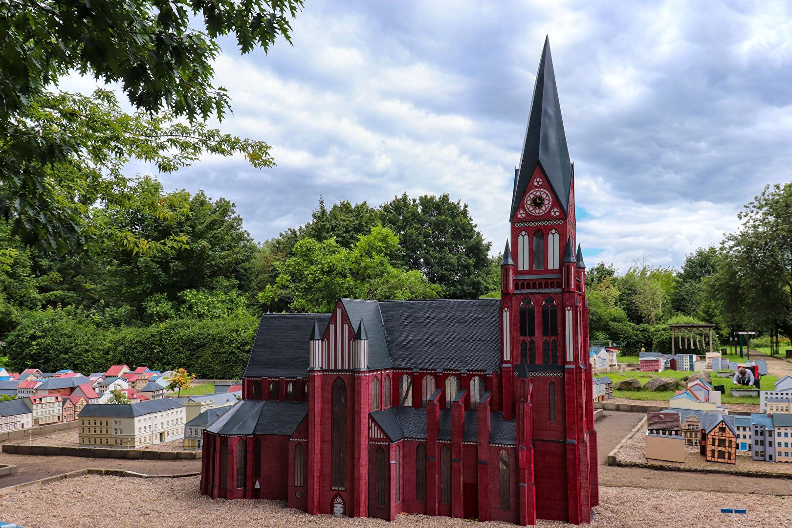 Der Schweriner Dom in Miniatur