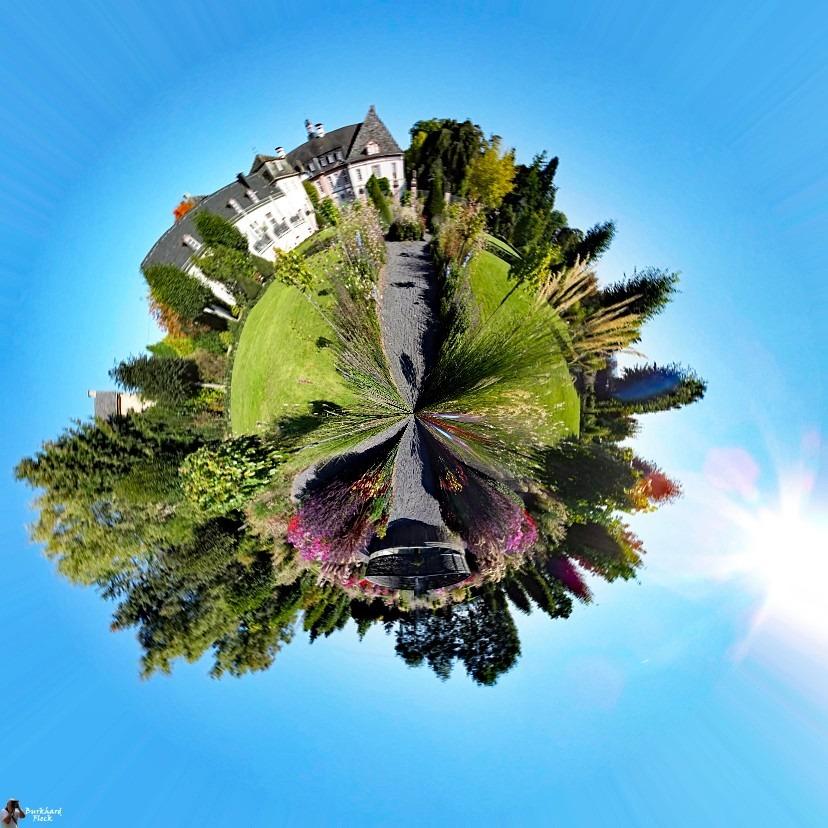 Planet Abtei Rommersdorf bei Neuwied