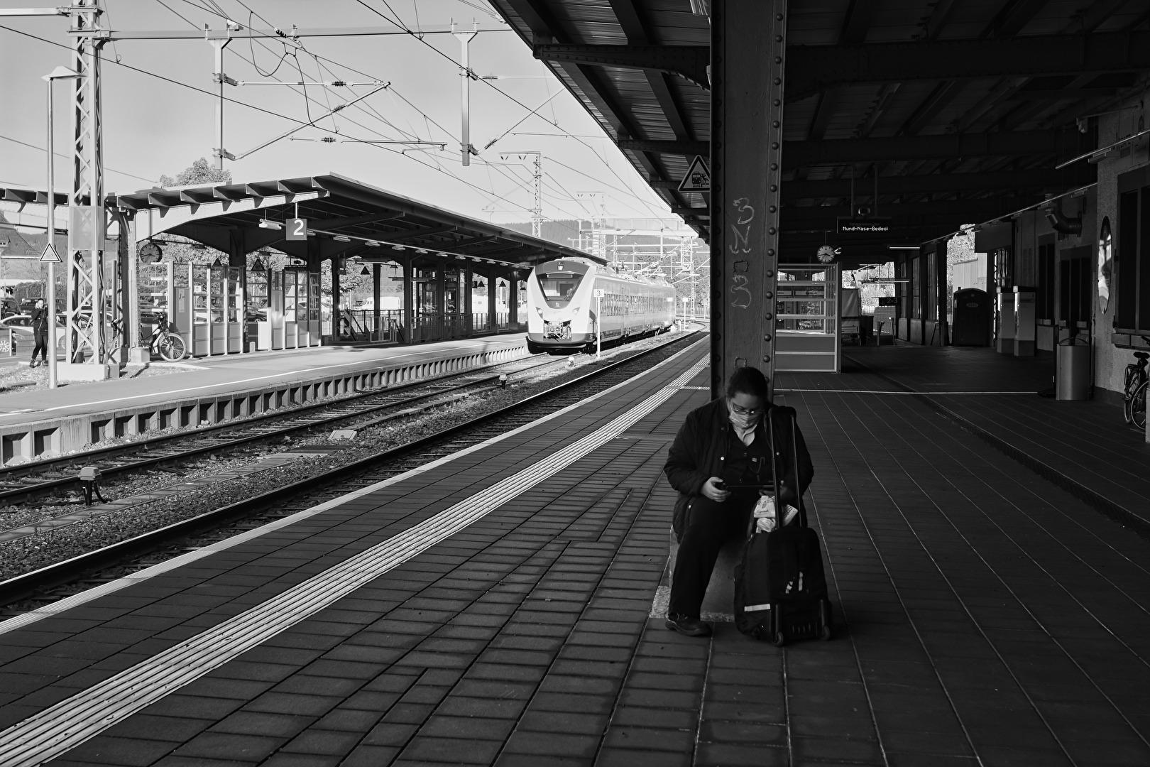 Bahnhöfe in Corona Zeiten