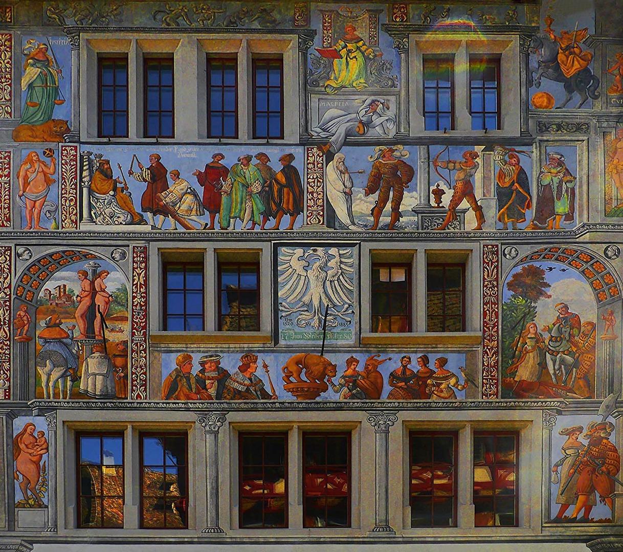 Freskenmalereien