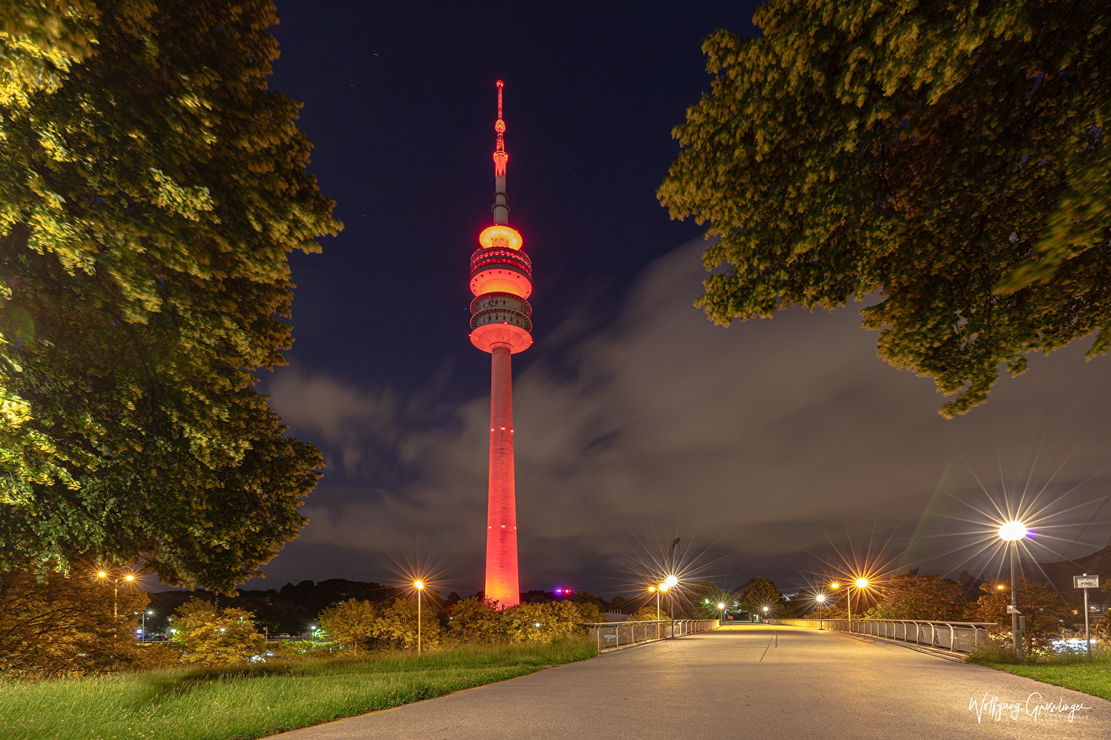 Night of Light 2020 in Olympiapark München