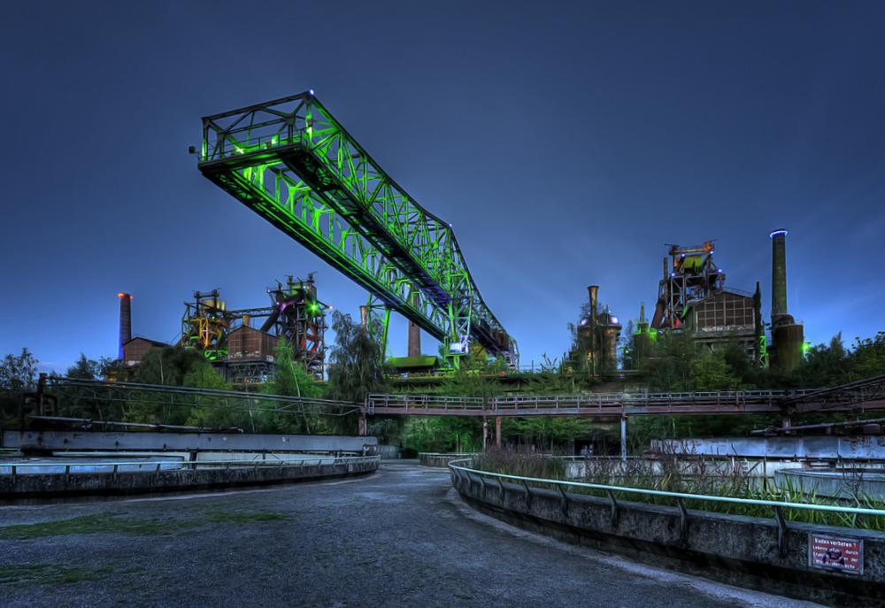 Kroko Landschaftspark Duisburg Nord