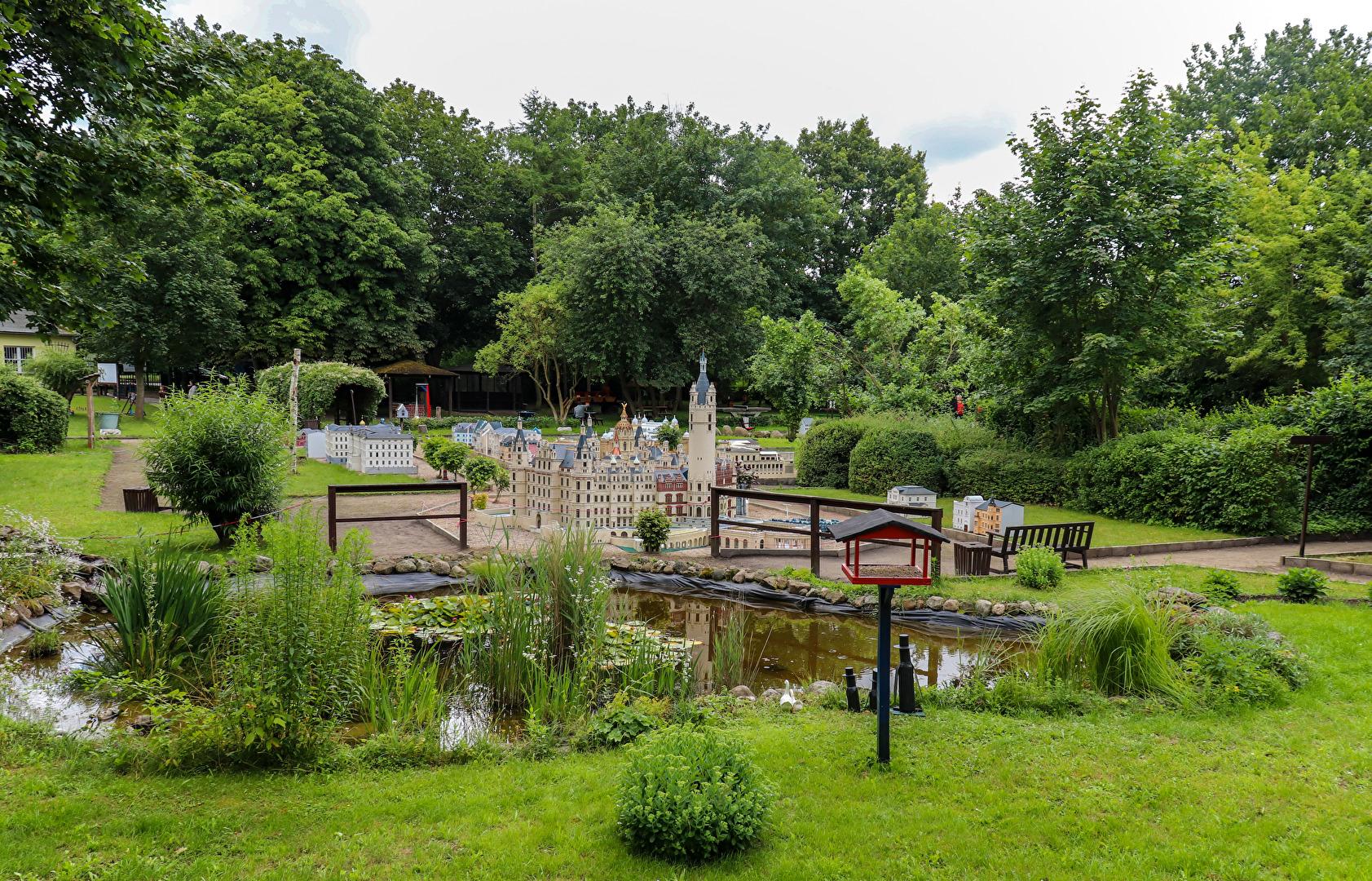 """Miniaturpark """" Lütt Schwerin """""""